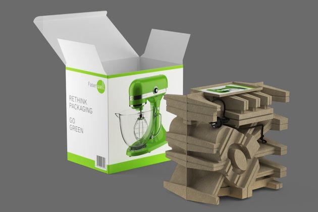 Umweltfreundliche Innen- und Außenverpackungen