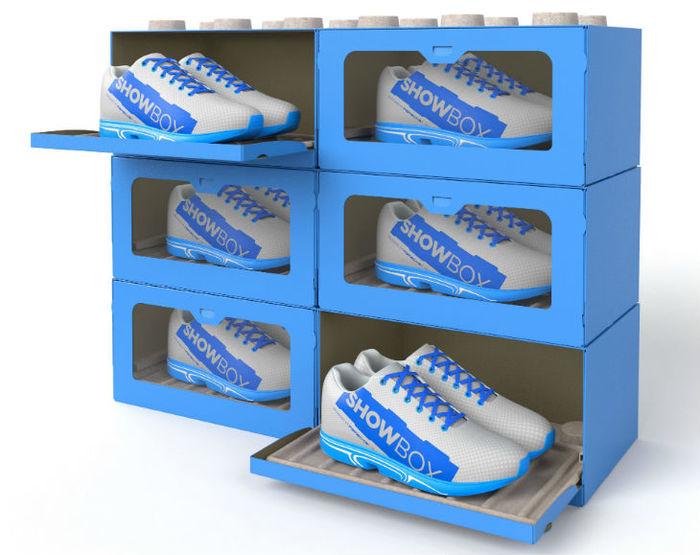 Die SHOWBOX - die Revolution des Schuhkartons.