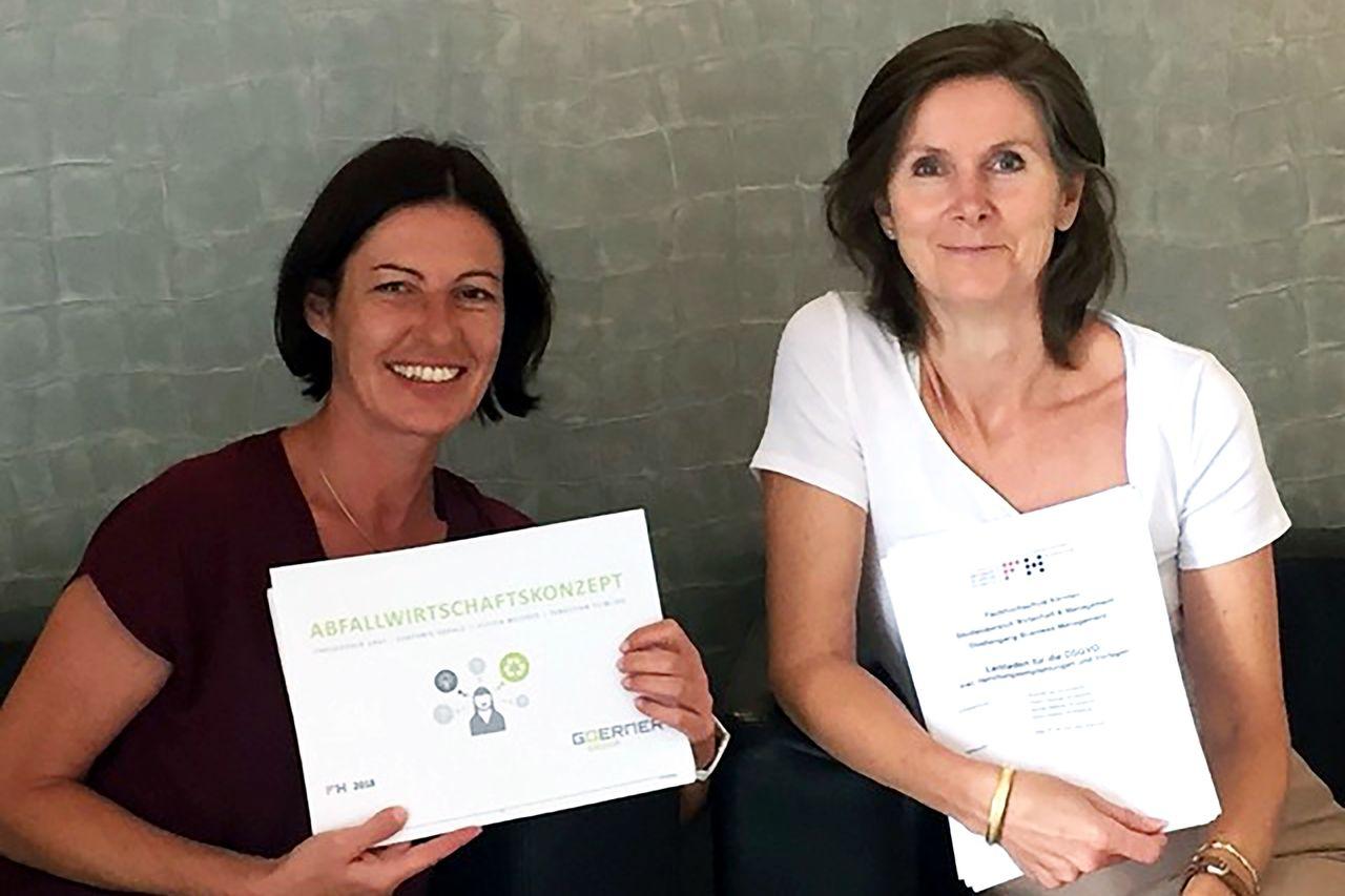 Dr. Eva Kral und Elisabeth Goerner MBA